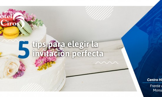 Invitación perfecta